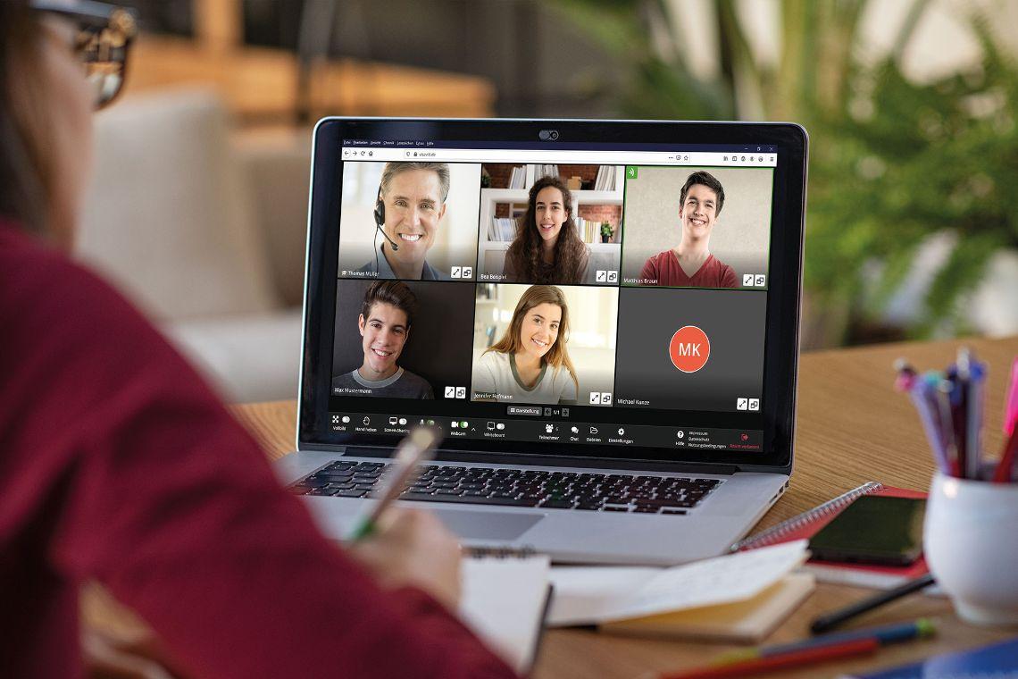 Visavid: Videokonferenzen an bayerischen Schulen einfach, barrierefrei und datenschutzkonform – Bild: Auctores GmbH